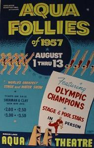 Poster for Aqua Follies, Seattle, 1957 Courtesy Peter Blecha