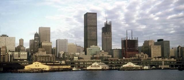 Seattle skyline 1983