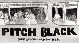 pitch-black