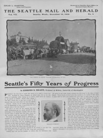 Seattle's Fifty Years of Progress, 1903 Progress Edition