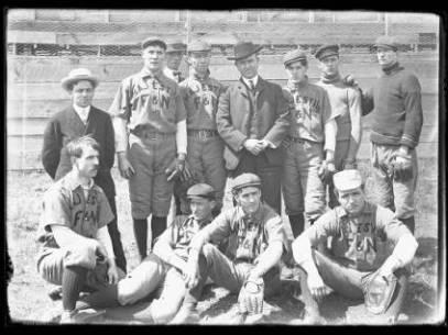 Frederick and Nelson Baseball Team, ca. 1913