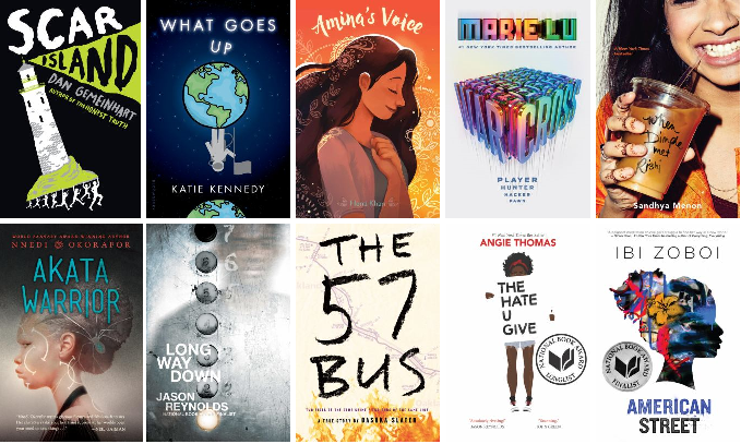 Our Top 10 Teen Books Of 2017 Shelf Talk