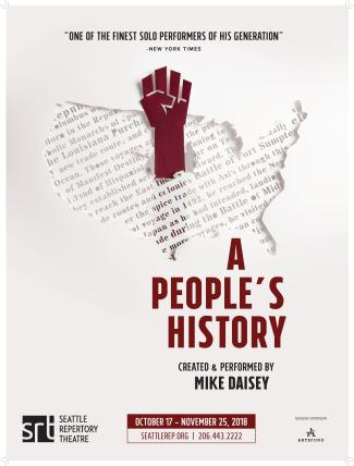 Poster image for Seattle Rep's A People's History