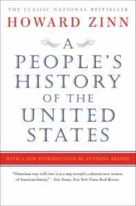 Book cover art for A People's History of the United States