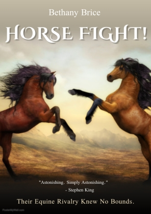 HORSE FIGHT - Made with PosterMyWall
