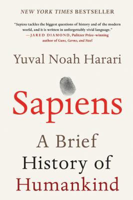 Book cover image for Sapiens