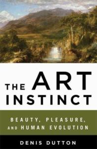Book cover image for The Art Instinct
