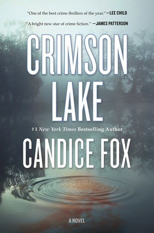 Book covers for three mystery novels: Lady in the Lake, Crimson Lake, Lost Lake