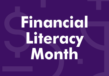 graphic for Financial Literacy Month