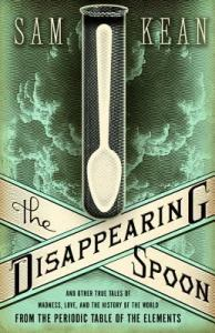 cover image for The Disappearing Spoon
