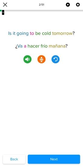 Mango Languages Lesson Example
