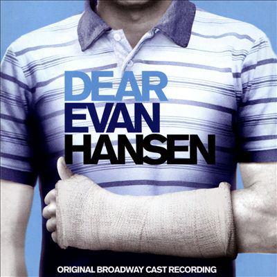 Image of the cover of Dear Evan Hansen Original Broadway Cast Recording