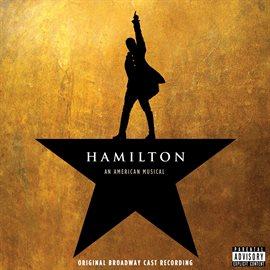 Image of cover of Hamilton Original Cast Recording