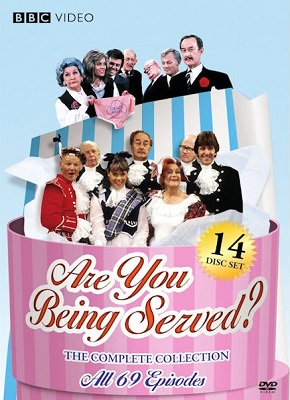 Image of cover for Are You Being Served DVD complete collection