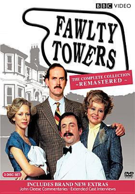 Image of DVD cover for Fawlty Towers complete collection