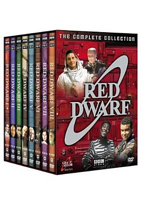 Image of complete collection DVD set for Red Dwarf