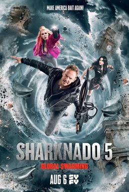 DVD cover image for Sharknado 5